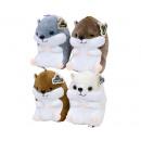 hurtownia Zabawki pluszowe & lalki: Pluszowy chomik elastan 23 cm