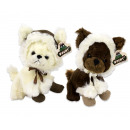 Plush Chihuahua with hat and boots 2 assorted 21c