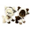 grossiste Vetement et accessoires: Peluche Chihuahua avec chapeau et bottes 2 assorti