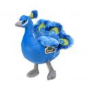 Plush Peacock Blue 19 cm