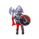 Playmobil Knight with ax and shield in bag