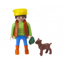 Playmobil Farmer with goat in bag