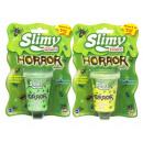 Slimy Horror Slime 80gram in pot 6x7,5cm assorted