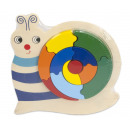Wooden Puzzle Snail 24 pieces