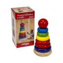 wholesale Toys: Wooden stacking tower 17 cm