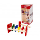 wholesale Wooden Toys:Wooden hammer tap 23 cm