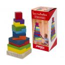 wholesale Toys: Tour and bois 12 pcs geometriques