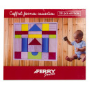 wholesale Wooden Toys: Wooden Blocks set 30 pieces 23x27cm