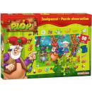 groothandel Speelgoed: Kabouter Plop Vloerpuzzel 50 stuks 22x31cm