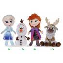 Disney Frozen 2 Pluche 4 assorti in display 20cm