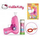 Dulcop Hello Kitty Bubble blow gun 60ml with li