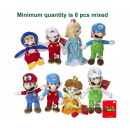 Mario Bross Plush Characters 8 assorted S2 30cm
