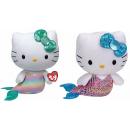 TY Hello Kitty Plüschkatze Meerjungfrau 15cm