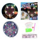 hurtownia Ogrod & Majsterkowanie: Diamentowa lampa do malowania Mandala (DIY)