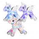 Plush Unicorn 3 assorted 58cm
