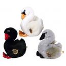 Peluche Swan 3 assortiti 28 cm
