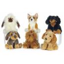 Plush Dog Sitting Luxury Series 2 6 assorted 30cm