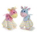 hurtownia Zabawki pluszowe & lalki: Plush Horse Baby 2 mix 29cm