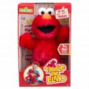 Sesamstraat Tickle Me Elmo met geluid B/O 40cm
