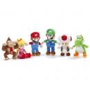 Mario Bross Plush 7 assorted 30 cm