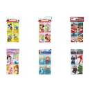 wholesale Licensed Products: Disney Notebook 6 assorted 5,7x10cm