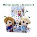 Disney Frozen Pluche Olaf, Anna & Elsa assorti in