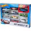 Hot Wheelsdie cast vehicles 10-Pack 19x28cm