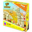 Großhandel Spielwaren: Docklets Holzbausteine, 3D flexibel, 40 Teile