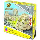 Großhandel Spielwaren: John Docklets Holzbausteine, 3D flexibel, 42