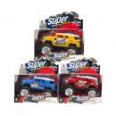 groothandel Overigen: Jeep Super Racing Force 4x4 3 assorti 12x18cm