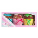Sweet & Easy Plush Muffins 3-pack 10x23cm