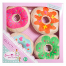 Sweet & Easy Plush Cronuts / Donuts 4-pack 21x