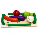 Beluga Wooden cut vegetables 12 parts 23x13cm
