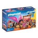 Playmobil Le Film Marla, Del et cheval avec des ai