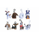 ingrosso Prodotti con Licenza (Licensing): Secret Life of Pets Bagclip peluche 10cm 8 ...