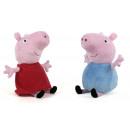 Großhandel Lizenzartikel: Peppa Pig Plüsch Peppa & George S3 2 sortiert