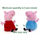 Peppa Pig Plush Peppa & George S3 2 assorted 2