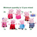 wholesale Toys: Peppa Pig Plush Mix it up S1 7 assorted 20cm