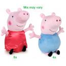 hurtownia Produkty licencyjne: Peppa Pig Pluszowa Sukienka Peppa Satin & Geor