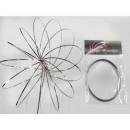 hurtownia Bizuteria & zegarki: Swirly Loop Magic Ring ze stali nierdzewnej 15cm