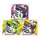 wholesale Toys: Change Robot to Soft Bullet Rifle 3 assorted i