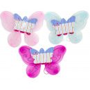 wholesale Gifts & Stationery: Amia fairy wings 50x40cm. 3 assorted