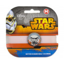 wholesale Licensed Products: Star Wars bracelet with replaceable Charm Storm Tr