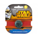 wholesale Licensed Products: Star Wars bracelet with replaceable Charm Boba Fet