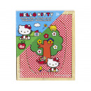Hello Kitty Puzzle in legno 3dlg 4 puzzle 12x15cm
