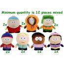 Großhandel Lizenzartikel: South Park Plüsch 7 Assorted Geschenk 14cm