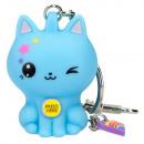 grossiste Cadeaux et papeterie: Porte-clés Depeche Manga Modèle Bleu 5cm (Batte