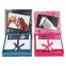 wholesale Office Utensil: Depesche Horses Dreams Notebook with pencil 2 a