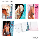Depesche Horses Dreams Note book 4 assorted in Tue