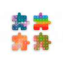 wholesale Dolls &Plush: Magic Pop Game Puzzle 4 assorted 12.5x12.5x1.5cm